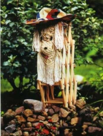 Интересные фигуры животных для декора сада